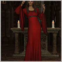 Feminine For dForce Camilla Medieval Gown image 1