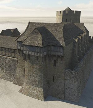 Fortified Manor for Vue  3D Models VanishingPoint