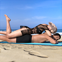 Z Holiday Romance - Couple Poses for Genesis 3 and 8  image 4