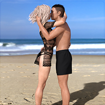 Z Holiday Romance - Couple Poses for Genesis 3 and 8  image 5