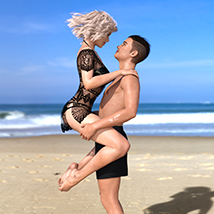 Z Holiday Romance - Couple Poses for Genesis 3 and 8  image 9