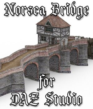 Norsca Bridge for DAZ Studio  3D Models VanishingPoint