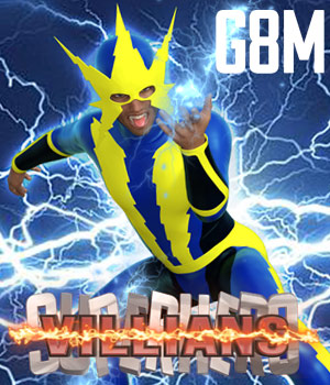SuperHero Villians for G8M Volume 1 3D Figure Assets GriffinFX