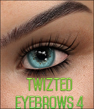 Twizted Eyebrows 4 MR 2D Graphics Merchant Resources TwiztedMetal