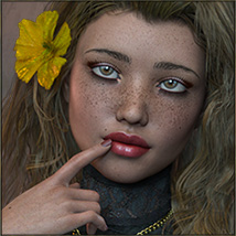 TDT-Totti for Genesis 3 Female image 1