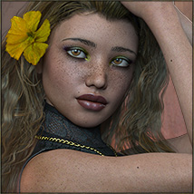 TDT-Totti for Genesis 3 Female image 2