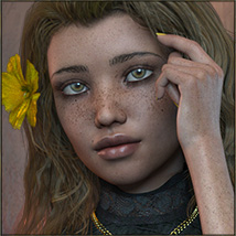 TDT-Totti for Genesis 3 Female image 3