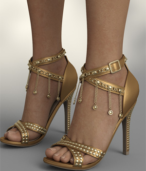InStyle - Kathy Heels and Jewel G8F 3D Figure Assets -Valkyrie-