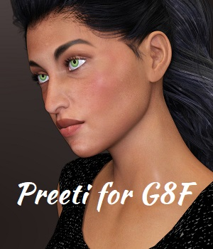 Preeti for G8F 3D Figure Assets anjeli93