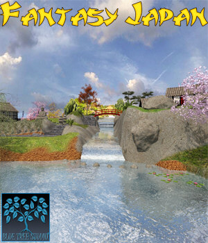 Fantasy Japan 3D Models BlueTreeStudio