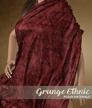 Poser - Ethnic Silks by Atenais