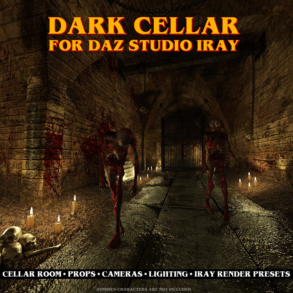 Dark Cellar for DS Iray