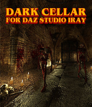 Dark Cellar for DS Iray 3D Models powerage