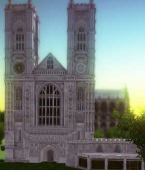 LONDON_WESTMINSTER ABBEY - Extended License 3D Game Models : OBJ : FBX 3D Models Extended Licenses patidarshyam