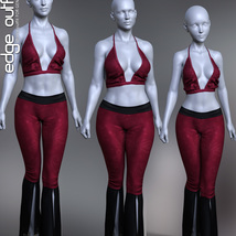 dForce Edge Outfit for Genesis 8 Females image 5