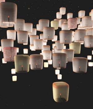 Floating Candle Lanterns For Vue 3D Models forester