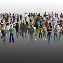 Background People for DAZ image 2