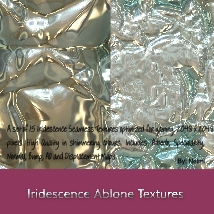 Iridescence Abalone Seamless Textures with Texture Maps - MR image 1