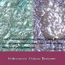 Iridescence Abalone Seamless Textures with Texture Maps - MR image 2