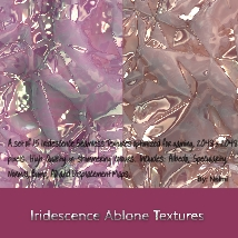 Iridescence Abalone Seamless Textures with Texture Maps - MR image 6