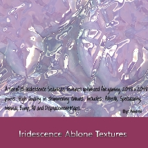 Iridescence Abalone Seamless Textures with Texture Maps - MR image 7