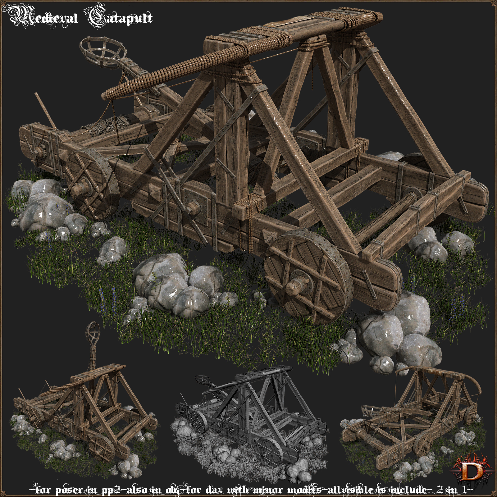 Medieval Catapult