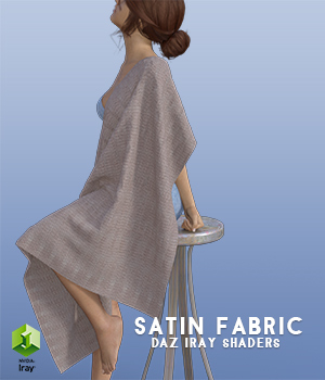 Satin Fabric :: Daz IRAY Shaders 3D Figure Assets Merchant Resources Cyrax3D
