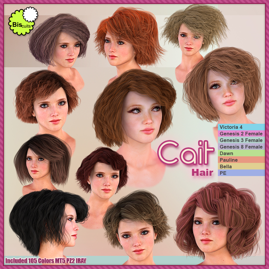 Biscuits Cait Hair by Biscuits