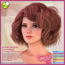 Biscuits Cait Hair image 5
