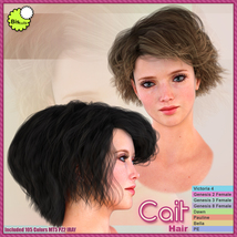 Biscuits Cait Hair image 7