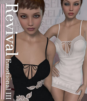 Revival for Emotional III V4_Poser 3D Figure Assets JudibugDesigns