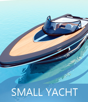 Small Yacht 3D Models TruForm
