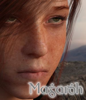 Magaidh - Maggy - for Genesis 8 Female 3D Figure Assets brahann
