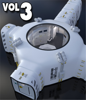 Bubble Habitat Vol3 3D Models coflek-gnorg