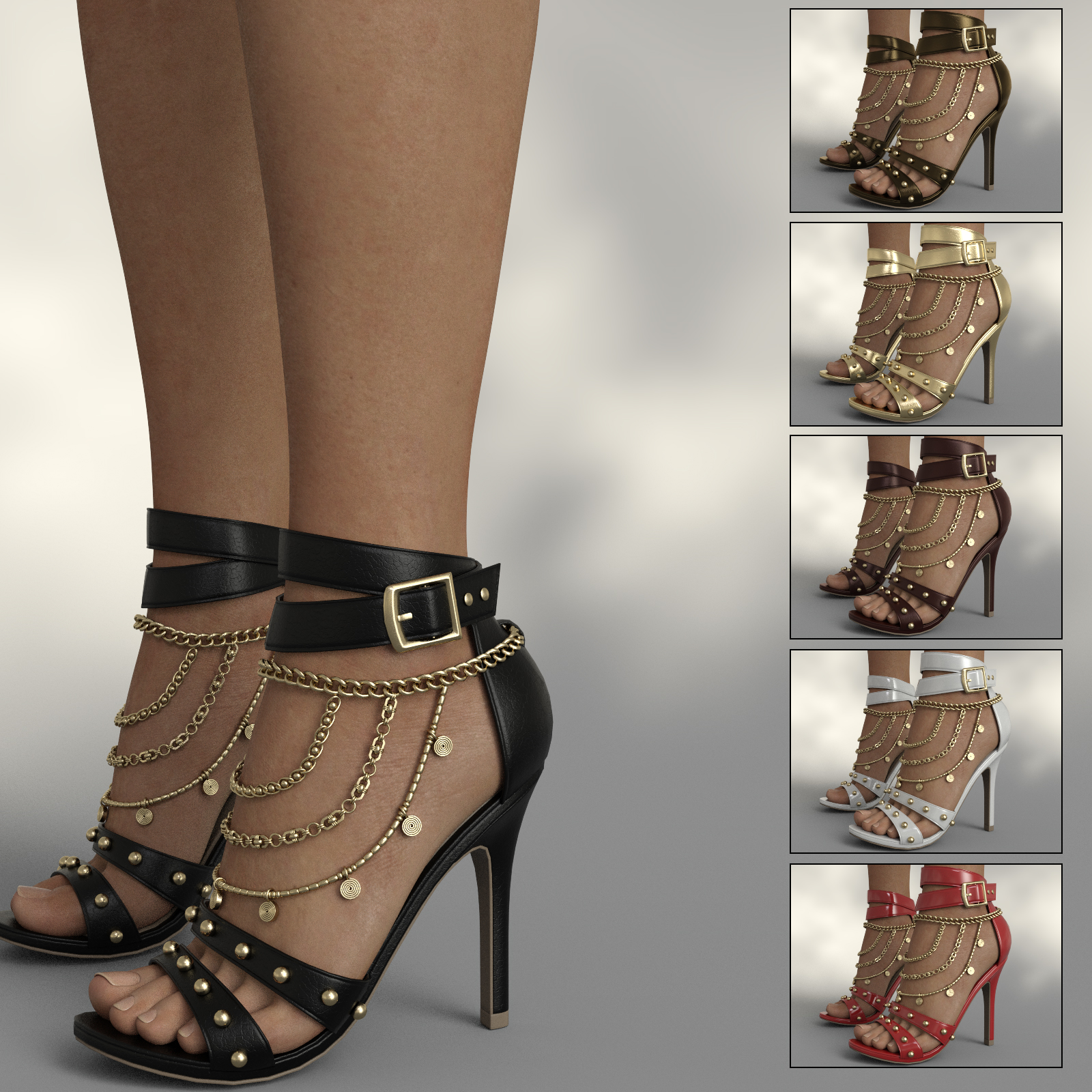 InStyle - Cindy Heels and Jewel G8F by -Valkyrie-