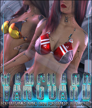 Vanguard for Nano Bikini for Genesis 8 Females 3D Figure Assets ShanasSoulmate