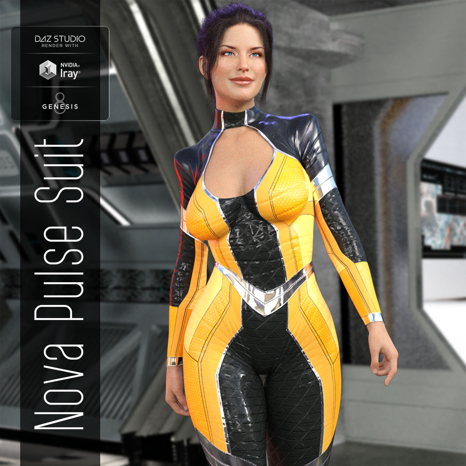 Nova Pulse Outfit for G8F