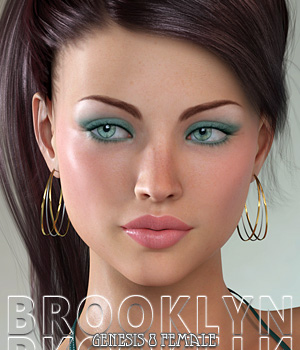 Brooklyn For Genesis 8 Female 3D Figure Assets Freja