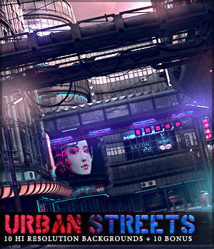 Urban Streets Backgrounds 2D Graphics Sveva