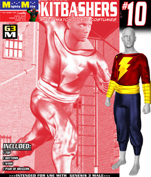 Kitbashers 010 MMG3M 3D Figure Assets MightyMite