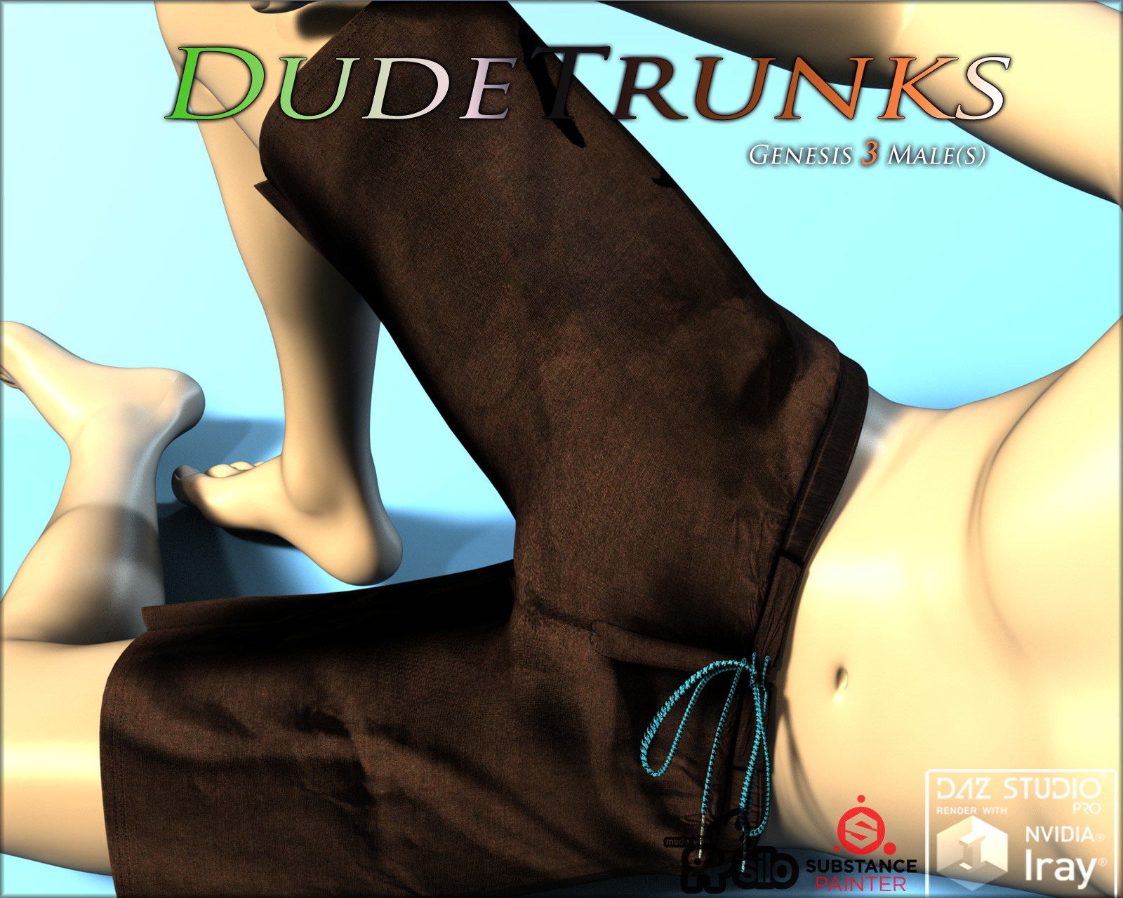 DudeTrunks for Genesis 3 Males