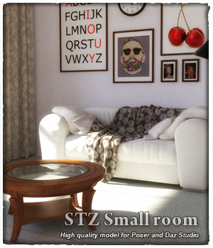 STZ Small room 3D Models santuziy78