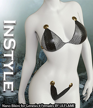 InStyle - Nano Bikini for Genesis 8 Females 3D Figure Assets -Valkyrie-