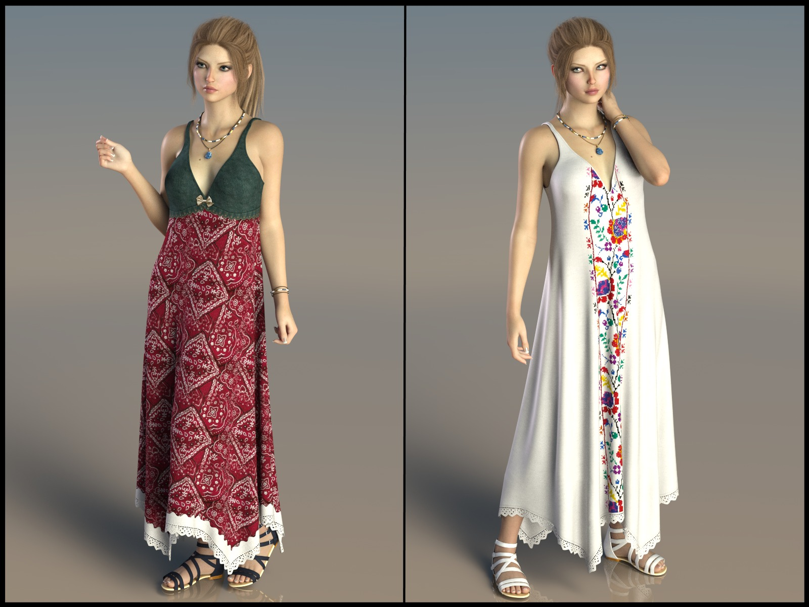7th Ave: dForce - Sundress for G8F by 3-DArena