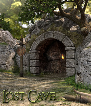 Lost Cave 3D Figure Assets 3D Models RPublishing