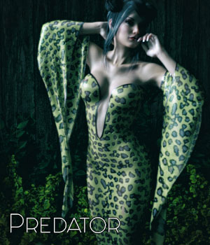 Predator for dForce Heiress Dress G3F 3D Figure Assets SynfulMindz