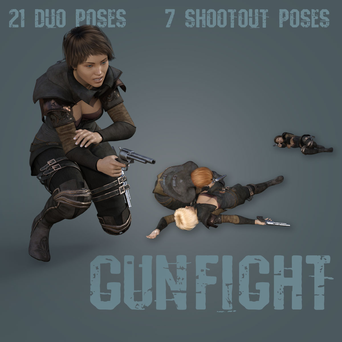 GUNFIGHT for Genesis 8 Female