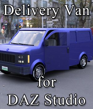 Delivery Van for DAZ Studio