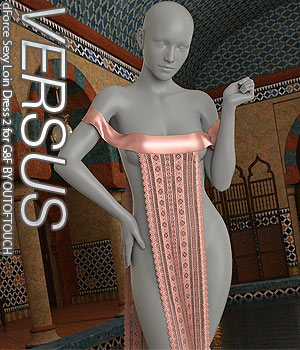 VERSUS - dForce Sexy Loin Dress 2 for Genesis 8 Females 3D Figure Assets Anagord