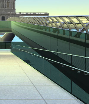MILLENNIUM BRIDGE - Extended License 3D Game Models : OBJ : FBX 3D Models Extended Licenses patidarshyam